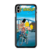 Arnold And Gerald Bicycle iPhone XS Case
