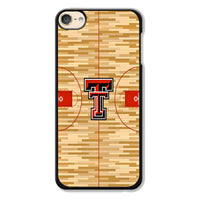 Texas Tech Red Raiders Basketball Team Court Wallpaper iPod 6 Case