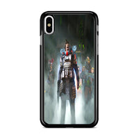 Apex Legends Gibraltar Lifeline Bloodhound iPhone X Case