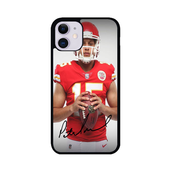 Patrick Mahomes Kansas City Chiefs Signature iPhone 11 Case