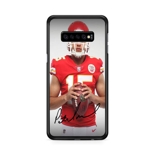 Patrick Mahomes Kansas City Chiefs Signature Samsung Galaxy S10e Case