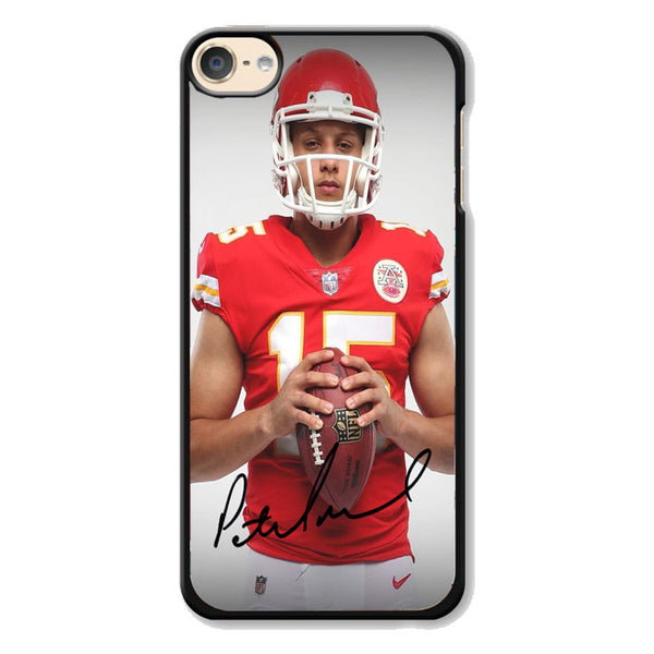 Patrick Mahomes Kansas City Chiefs Signature iPod 6 Case