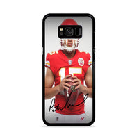 Patrick Mahomes Kansas City Chiefs Signature Samsung Galaxy S8 Plus Case