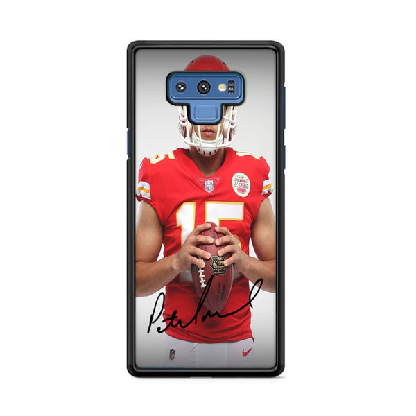 Patrick Mahomes Kansas City Chiefs Signature Samsung Galaxy Note 9 Case