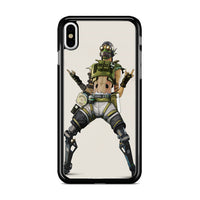 Apex Legends Octane Character iPhone X Case