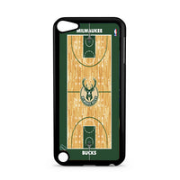 Milwaukee Bucks Basketball Court iPod 5 Case