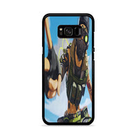 Apex Legends Octane Selfie Samsung Galaxy S8 Case
