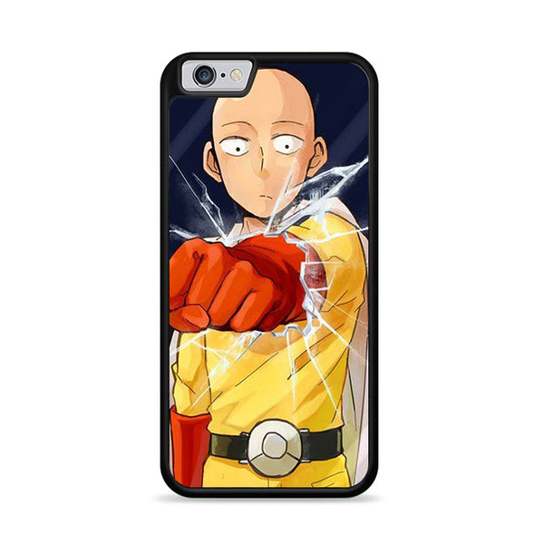 punch broke your phone saitama one punchman iPhone 6|6S Case