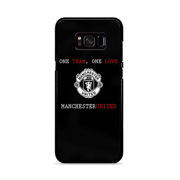 One Team One Love Manchester United Fc Samsung Galaxy S8 Case | Miloscase