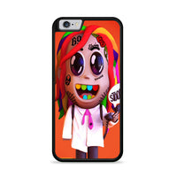 Rainbow 6Ix9Ine 69 Sculpt iPhone 6|6S Case