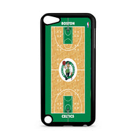 Boston Celtics Court Wallpaper iPod 5 Case