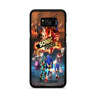 Sonic Forces Wallpaper Samsung Galaxy S8 Case
