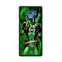 Green Lantern Dc Comics Superhero Deadpool Samsung Galaxy Note 9 Case