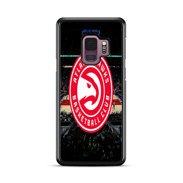 Top Atlanta Hawks Court Wallpaper Samsung Galaxy S9 Plus Case