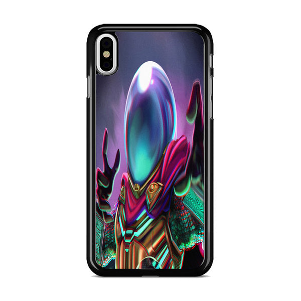 Mysterio Spiderman Art Far From Home iPhone XS Case