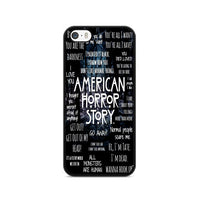 American Horror Story Quotes Collage iPhone 5|5S|SE Case