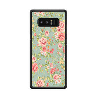 Flower Beautiful Vintage Floral Background Samsung Galaxy Note 8 Case