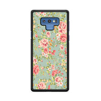 Flower Beautiful Vintage Floral Background Samsung Galaxy Note 9 Case