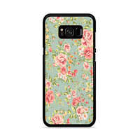 Flower Beautiful Vintage Floral Background Samsung Galaxy S8 Case