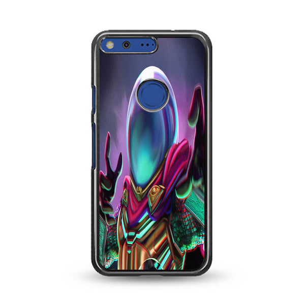 Mysterio Spiderman Art Far From Home Google Pixel Case