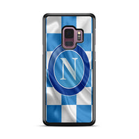 S.S.C. Napoli Logo Flag Wallpaper Samsung Galaxy S9 Plus Case