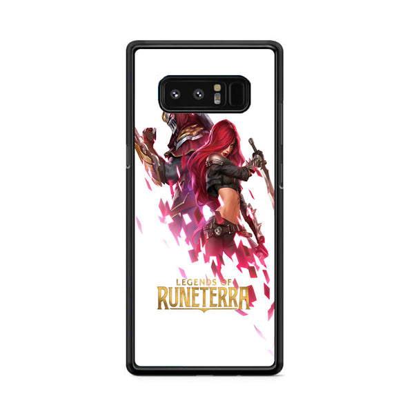 Katarina Zed Lol Legends Of Runeterra Samsung Galaxy Note 8 Case