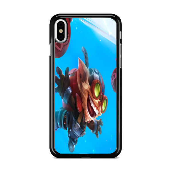 League Of Legends Wild Rift Ziggs iPhone X Case