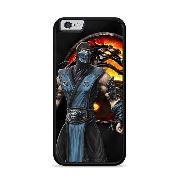 Mortal Kombat Sub Zero Dragon Logo iPhone 6|6S Case