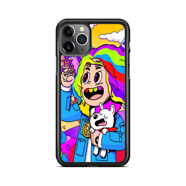Cartoon 6Ix9Ine Sixnine iPhone 11 Pro Case