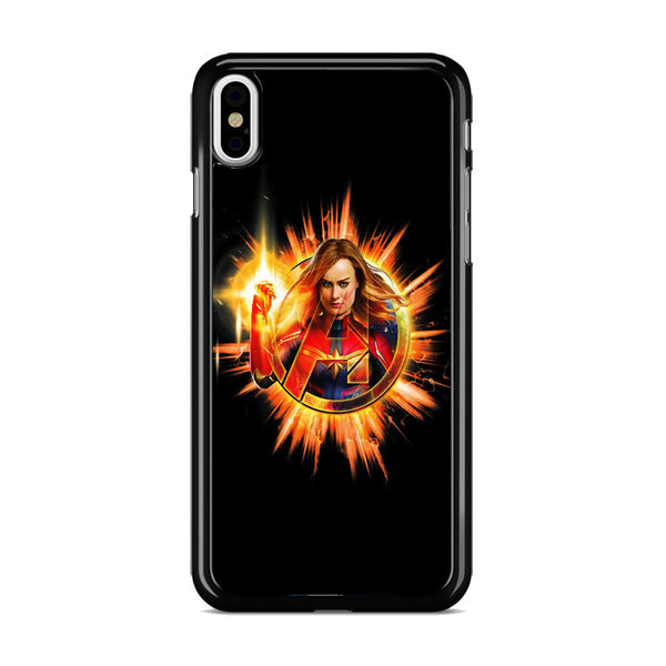 Avengers Endgame Captain Marvel iPhone XS Case