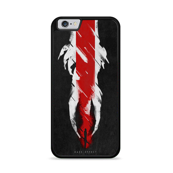 Grunge Minimalist Mass Effect Poster iPhone 6|6S Case