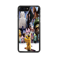 Snorlax Charizard Pokemon Detective Pikachu Characters iPhone 8 Plus Case