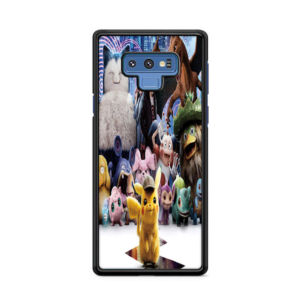 Snorlax Charizard Pokemon Detective Pikachu Characters Samsung Galaxy Note 9 Case