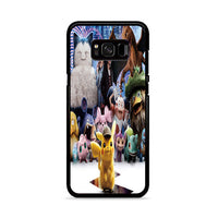 Snorlax Charizard Pokemon Detective Pikachu Characters Samsung Galaxy S8 Case