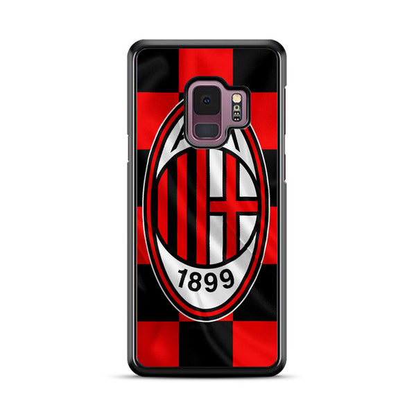 A.C. Milan 1899 Flag Wallpaper Samsung Galaxy S9 Case