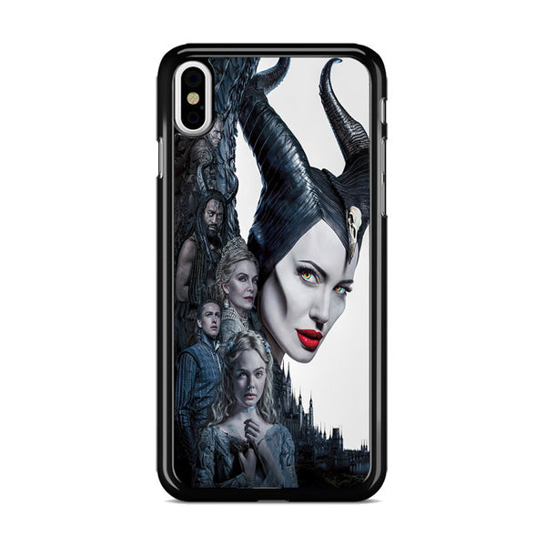 Maleficent Mistress Of Evil Characters Movie Poster iPhone X Case
