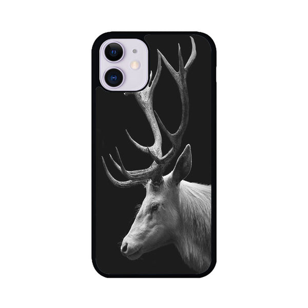 Vintage Deer Wallpaper iPhone 11 Case