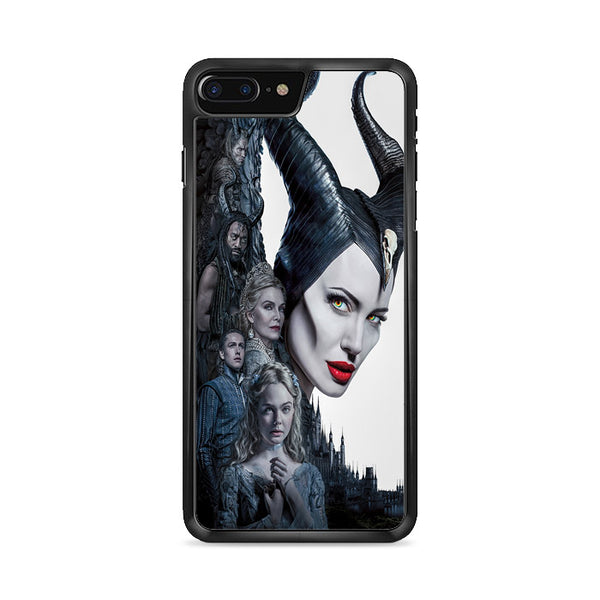Maleficent Mistress Of Evil Characters Movie Poster iPhone 8 Plus Case