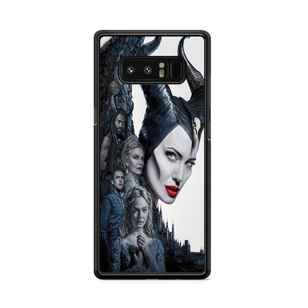 Maleficent Mistress Of Evil Characters Movie Poster Samsung Galaxy Note 8 Case