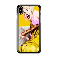 Birds Of Prey Harley Quinn 2020 Yellow iPhone X Case