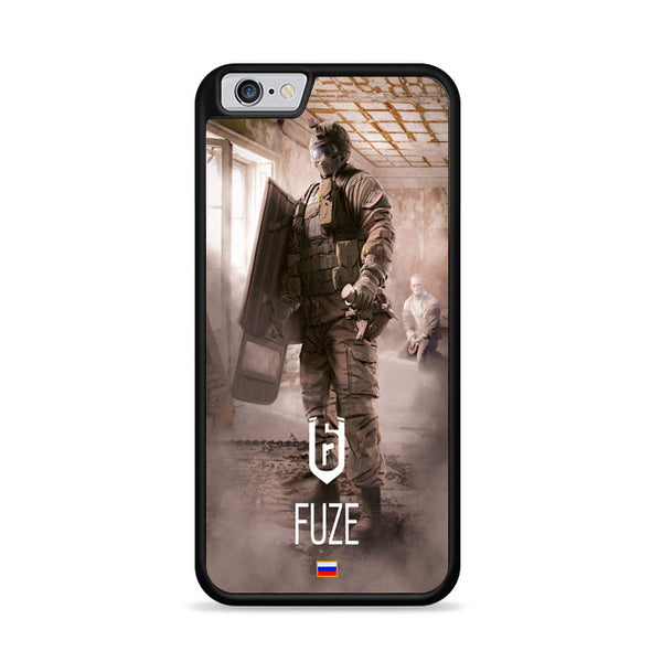 Rainbow Six Siege Fuze Tom Clancy iPhone 6|6S Case