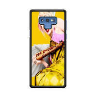 Birds Of Prey Harley Quinn 2020 Yellow Samsung Galaxy Note 9 Case