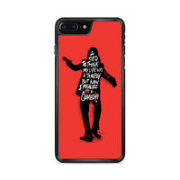 Joker 2019 Movie Quote iPhone 8 Plus Case