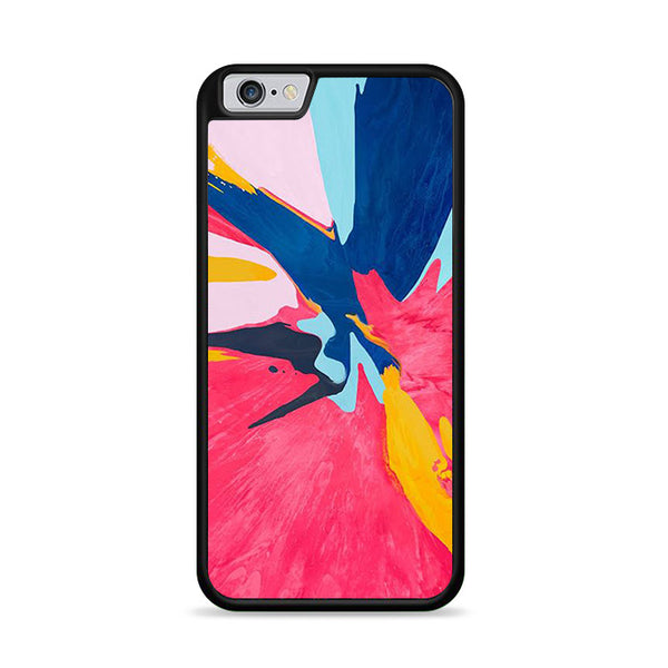 splater watercolor abstract pattern iPhone 6|6S Case
