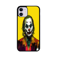 Joker 2019 Poster Joaquin Phoenix Yellow iPhone 11 Case