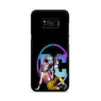 Birds Of Prey Harley Quinn Margot Robbie Comics Movie Black Samsung Galaxy S8 Case