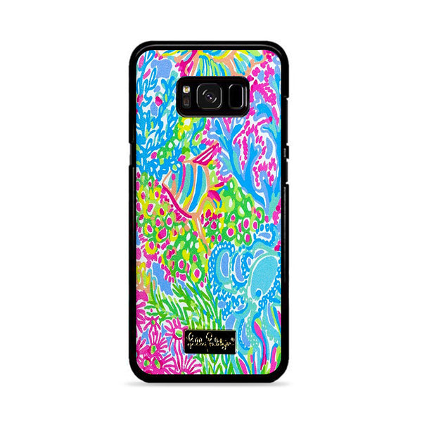 Lilly Pulitzer Coral Lovers Samsung Galaxy S8 Case