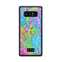 Lilly Pulitzer Coral Lovers Samsung Galaxy Note 8 Case