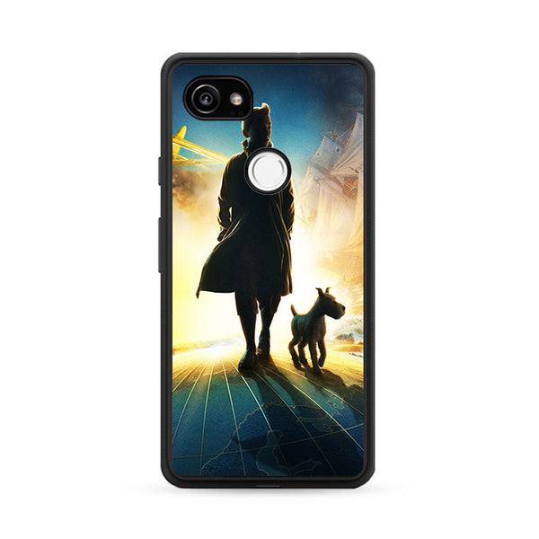 The Adventures of Tintin Wallpapers Google Pixel 2 XL Case