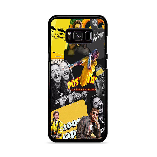 Post Malone Yellow Collage Discover Samsung Galaxy S8 Case | Miloscase